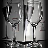 XBJBPL Rotweingläser/Sektgläser/Rotweinglas,6 Stück Bleifreies Glas Weinglas Ktv Hotel Transparent Rotwein Tasse Große Wein Tasse, 400Ml