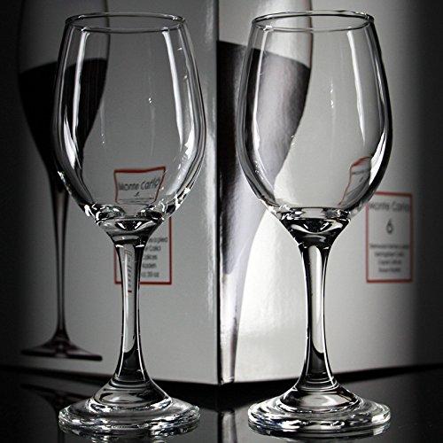 XBJBPL Copa De Vino/Copas De Vino Tinto,6 Piezas De Vidrio Sin Plomo Copa De Vino Ktv Hotel Copa De Vino Tinto Transparente Copa De Vino Alta, 400 Ml
