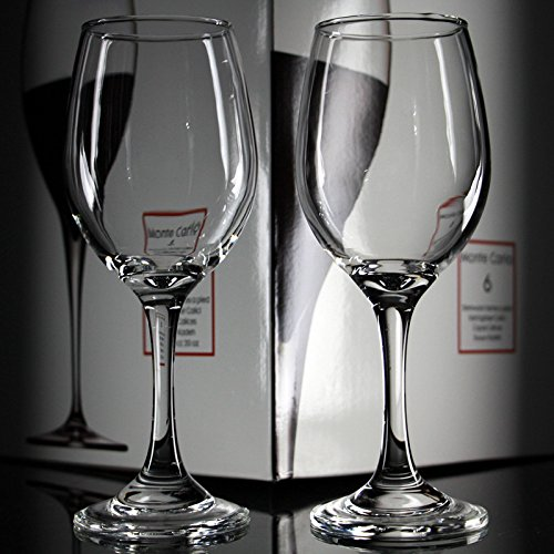 XBJBPL Copa De Vino/Copas De Vino Tinto,6 Piezas De Vidrio Sin Plomo C