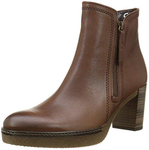 Gabor Shoes 52.942.22 Damen Kurzschaft Stiefel, Braun (Sattel(SN/A.MA/MI) 22), 43 EU (9 Damen UK) (Heels Sattel-schuh)