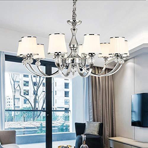 Moderne Luster Chrom-Metall Led Kronleuchter Beleuchtung Kristall Wohnzimmer Led Anhänger Kronleuchter Lichter Schlafzimmer Led Hängeleuchte, kaltes Weiß, 220-240V, 1 Arm Wandleuchte - 1-licht-kristall-wandleuchte