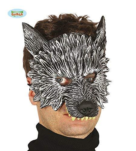Guirca Wolf Latex Maske Halloween Horror Halloweenmaske Maske Tiermaske Wolf-latex-maske