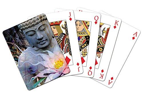 Tree-Free Greetings 49487 Spielkartendeck, mit englischsprachiger Aufschrift