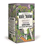 HEATH & HEATHER - Super Seeds Organic Infusion - with Coriander, Fennel, Anise and Fenugreek- 20 filters