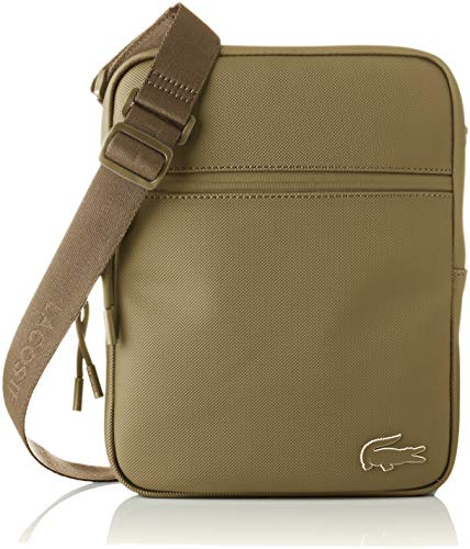 Lacoste homme Nh2716po Sac porte epaule Vert (Military Olive)
