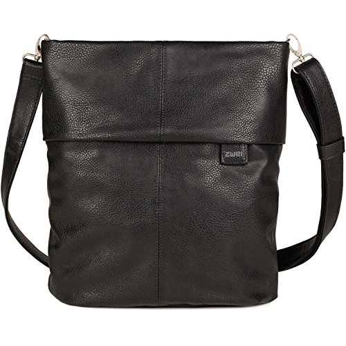 Zwei Mademoiselle M12 Handtasche Noir (Schwarz)