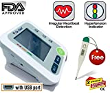 #8: Dr.Odin BP Monitor Work on ANY ANDROID CHARGER (1+1 WARRANTY) AND 2 USER INTERFACE