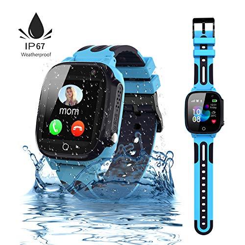 Jaybest Kinder Smartwatch,wasserdichte Smart Watch für Kinder,Smart