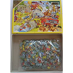 Safari Park de luxe puzzle - 1000 pieces