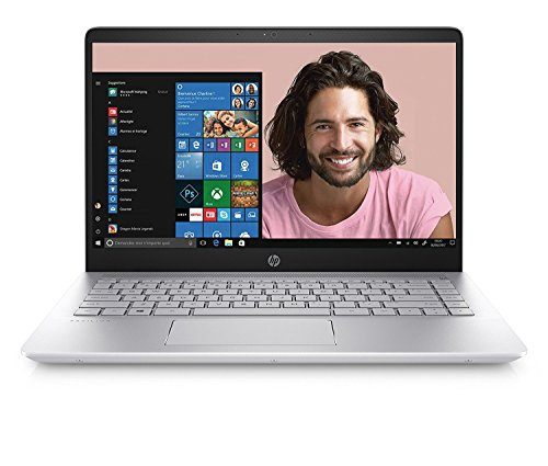 "HP Pavilion 14-bf003nf Ultrabook Intel Core i5 14"" (Full HD, 6 Go de RAM, 1 To + SSD 128 Go, Nvidia GeForce 940MX, Windows 10) Argent"