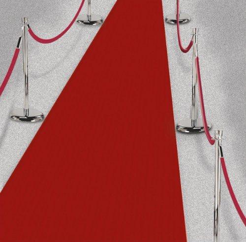 Preisvergleich Produktbild Roter Teppich VIP Deko Empfangsteppich Hochzeit Deko 450x61 cm Red Carpet