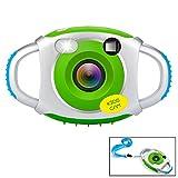 Cámara para niños niños cámara 1,44 pulgadas pantalla marco Foto Digital Cámara de 5MP para...