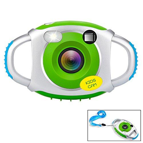 Galleria fotografica Fotocamera per bambini 5MP bambini 1,44 pollici schermo cornice digitale fotografica per bambini USB compatibile