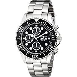 Invicta 1768 43mm Silver Steel Bracelet & Case flame fusion Men's Watch