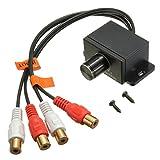 YONGYAO Universal Car Audio Verstärker Bass RCA Level Fern Volumen-Steuerknopf LC-1
