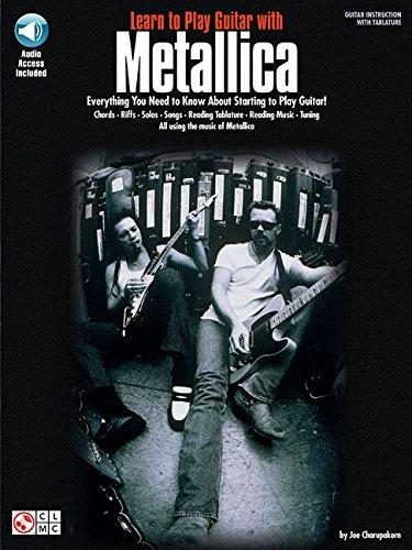 LEARN TO PLAY GTR METALLICA+CD (Book & CD)