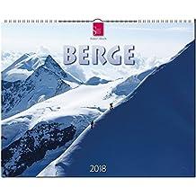 BERGE: Original Stürtz-Kalender 2018 - Großformat-Kalender 60 x 48 cm