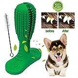 Suntapower Cepillo de Dientes para Perros, Masticar Cuidado Dental de Juguetes con Goma NO Tóxica