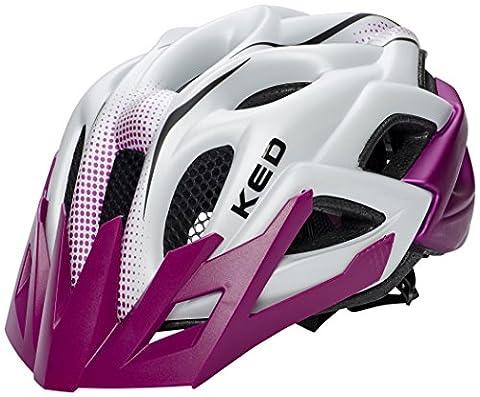 KED Status Helmet Junior Violet Pearl Matt Kopfumfang 52-59 cm 2017 mountainbike helm downhill