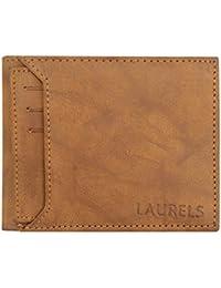Laurels Rogue III Men's Leather Tan Wallet