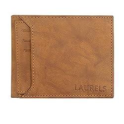Laurels Rogue III Mens Leather Tan Wallet