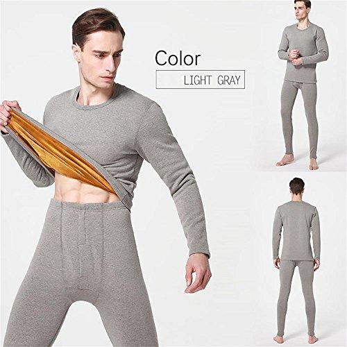 DSHUY Donne e uomini inverno invecchiati ispessimento t e oro velluto caduta abbigliamento mutandoni set thermal underwear , c , xxxl
