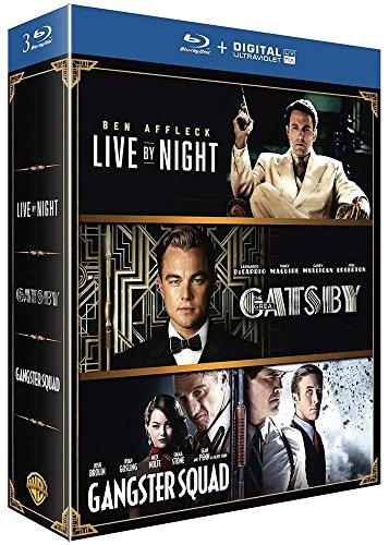 Live by Night + Gatsby + Gangster Squad [Blu-ray + Copie digitale]