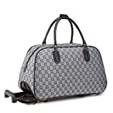 Viuviu ,  Damen Weekender, grau - Canvas Small G - Grey - Größe: Large