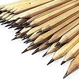 OMG Matite da ufficio in legno naturale laccato, HB, confezione da 288