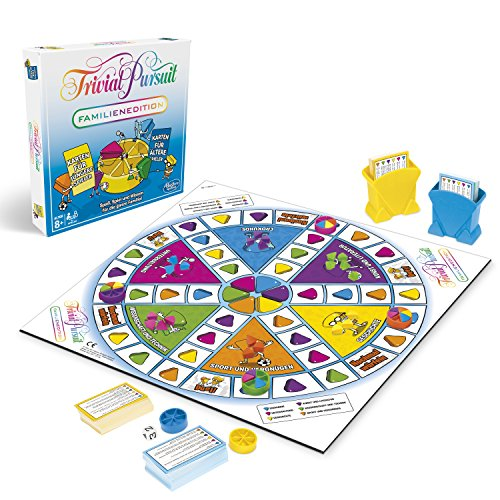Hasbro Gaming E1921100 - Trivial Pursuit Familien Edition Familienspiel