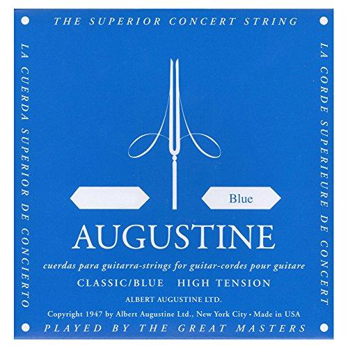 Augustine corde per chitarra classica corde singole mi1 blue label