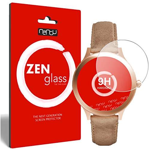 ZenGlass Flexible Glas-Folie für Fossil Q Venture Panzerfolie I Bildschirm-Schutzfolie 9H