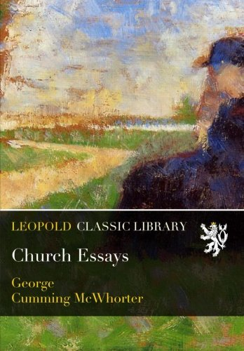 Church Essays por George Cumming McWhorter