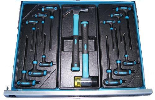 Profi Werkstattwagen mit Werkzeug - 2