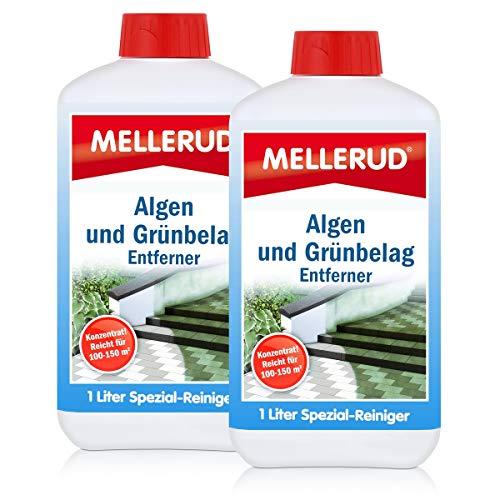 2x Mellerud Algen und Grünbelag Entferner 1L