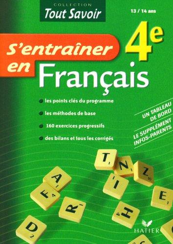 S'entraîner en Français 4e