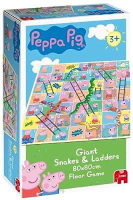 Disney Peppa Pig - Juego de mesa de serpientes y escaleras por Jumbo
