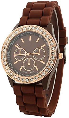 Geneva Analog Brown Dial Women's Watch-g9532_D