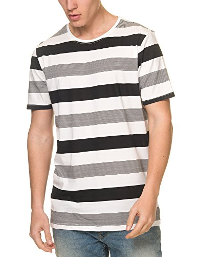 dr-denim-jeansmakers-mens-patrick-mens-white-striped-tee-in-size-m-white