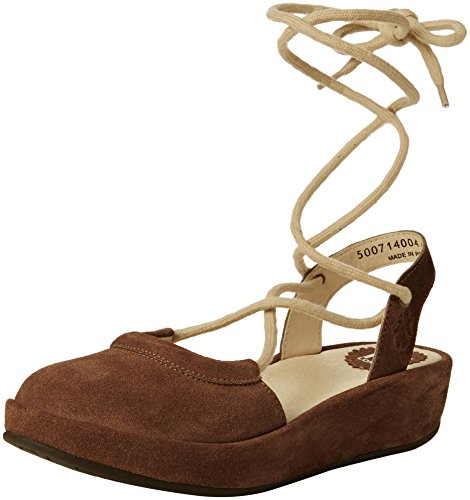 FLY London Damen Beki714fly Sandalen Beige (taupe 004)