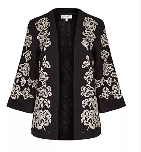 marks-and-spencer-per-una-floral-black-white-embroidered-kimono-style-womens-jacket-size-x-large-x-l