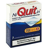 NIQUITIN Clear 7 mg transdermale Pflaster 7 St Pflaster transdermal - preisvergleich