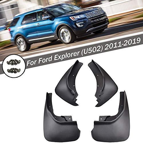 änger vorne & hinten Spritzschutz Flap Kit für Ford Explorer 2011-2019 ()