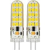 MENGS® 2pieza G44W LED Bombilla Blanco frío 6500K AC/DC 12V 30x 2835SMD con revestimiento de silicona