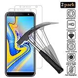 ANEWSIR [2 Stück Panzerglas Schutzfolie für Samsung Galaxy J4 Plus/j6 Plus, 9H Panzerglasfolie [Blasenfrei] [Einfache Installation] [Ultra-klar] Bildschirmschutzfolie Folie Für Samsung Galaxy J4+/j6+