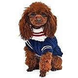 YAJIE-PET, Maglioncino per Cani e Gatti. Maglione per Cani (Color : Blue, Size : L)