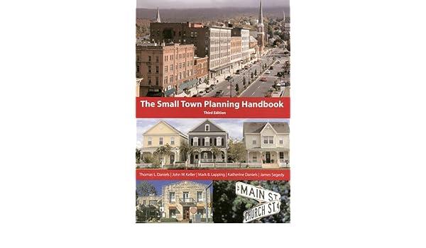 Small Town Planning Handbook, 3rd ed : Amazon co uk: Thomas L