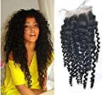 """Moresoo 10"""" Top lace closure Bresilie..."""