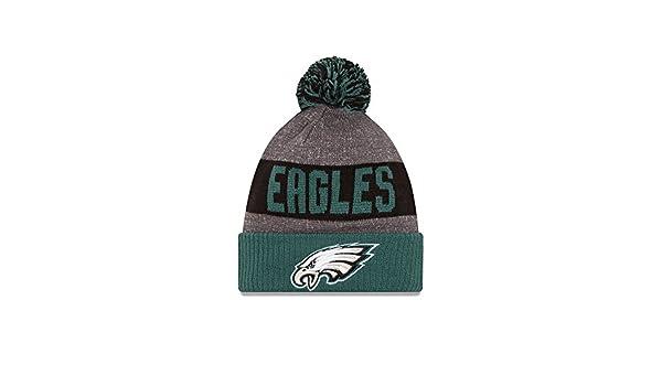 0d6a1ea8 ... low price philadelphia eagles new era 2016 sideline on field sport knit  hat green cuff 11289068
