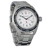 Marke Neu. Wostok komandirskie 200WR Herren Armbanduhr Mechanische automatische Armbanduhr Automatik # 020712